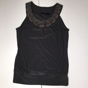 The Limited grey dress top